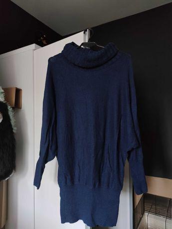 Sweterek, orsay, S, granatowy