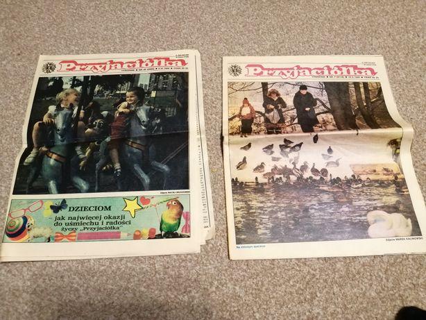 Gazeta Przyjaciółka dwa egzemplarze 1988