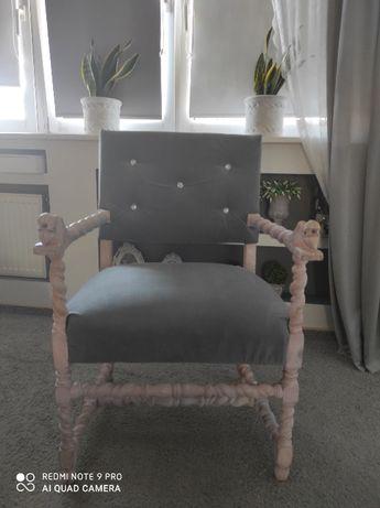 Fotel rustykalny