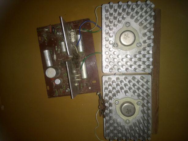 плата усилителя мощности на транзистора кт 803а