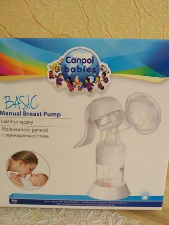 Молокоотсос ручной Basic - Canpol Babies