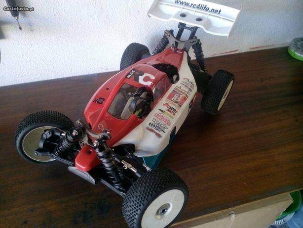 Carro telecomandado TT competição (Chassi)