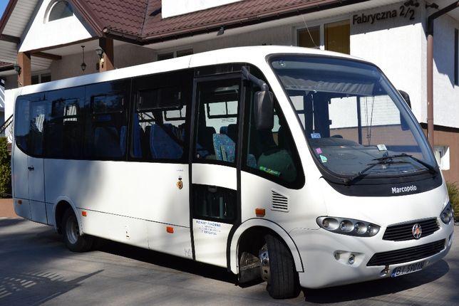 Przewozy pasażerskie Wynajem BUS-AUTOBUS wraz z kierowcą
