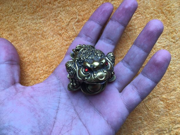 Фигурка фігурка статуетка жаба денежная жабка удача