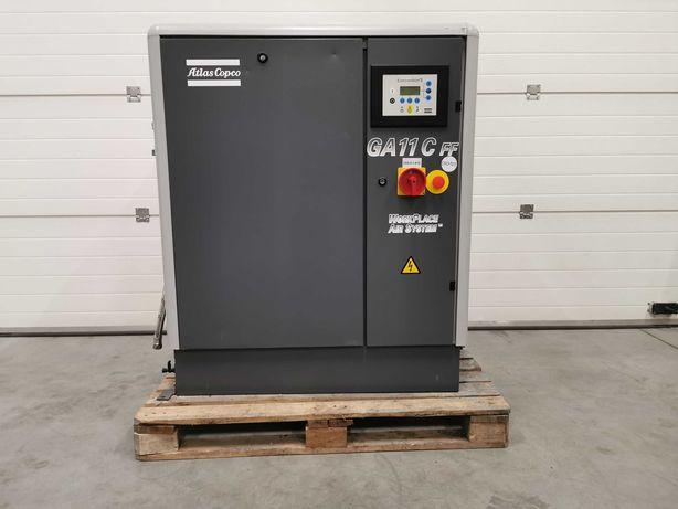 Sprężarka śrubowa 11kw ATALS COPCO 1800l/min +OSUSZACZ 8 BAR