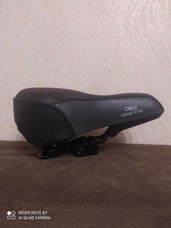 Седло на велосипед,гранд стар оригинал, велосидло,седло для велика.