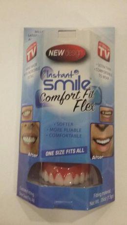 sztuczne zęby-nakładki na zęby-INSTANT SMILE-rozm,uniwersalny-NOWOSC !