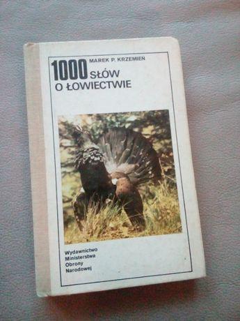 1000 słów o łowiectwie