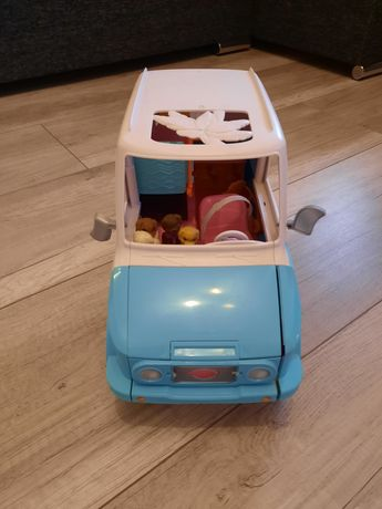 Barbie samochód rozkładany