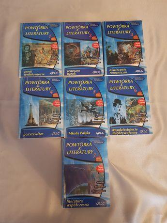 Książki do języka polskiego duży zbiór