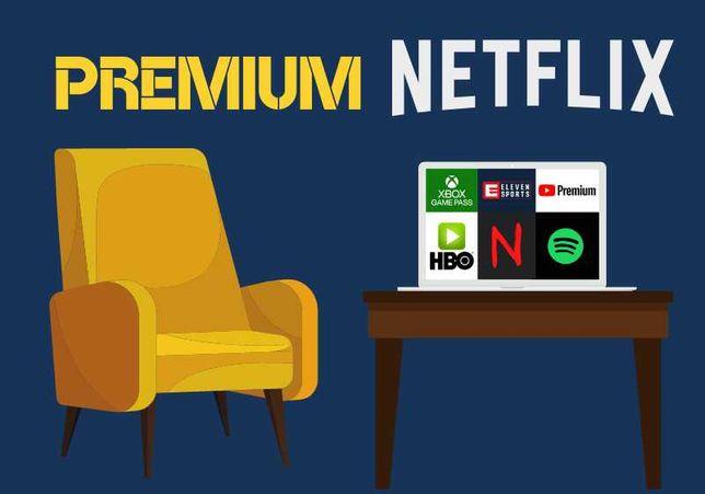 NETFLIX PREMIUM | spotify | xbox | ELEVEN | IPLA | HBO | automat