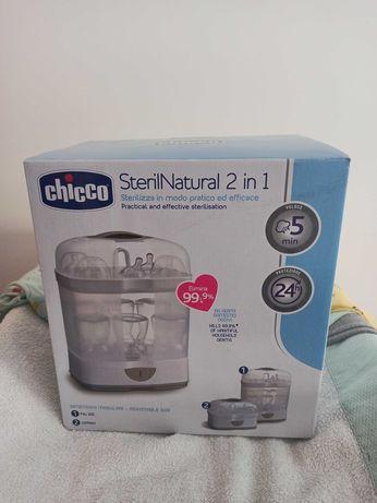 Esterilizador a vapor CHICCO SterilNatural 2 in 1