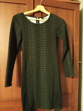 Dzianinowa sukienka H&M rozmiar 34