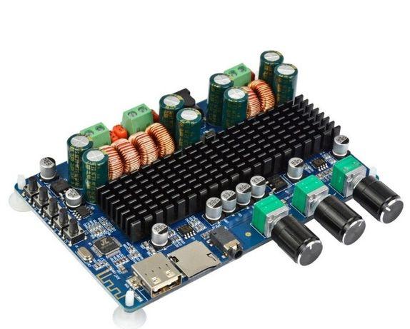 Аудио усилитель TPA3116D2 2.1, 2х50Вт, 1х100Вт Сабвуфер, Bluetooth v4.