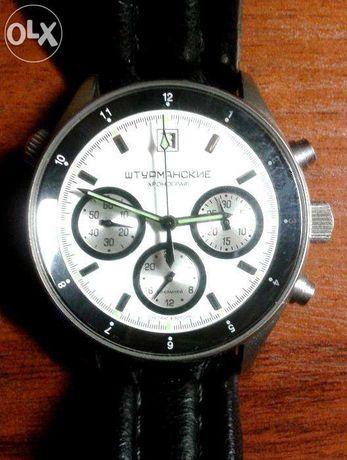 """Продам редкие (N65 из 80шт) часы хронограф """"Штурманские"""" пр. Volmax."""
