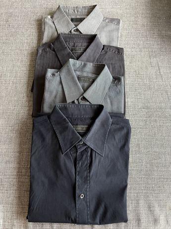 4 camisas Prada de homem 42