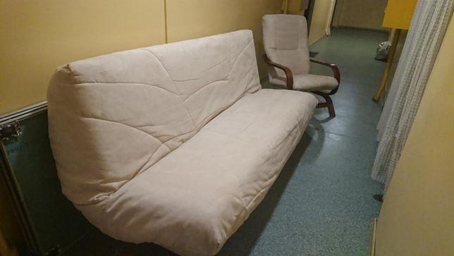 Komplet Wersalka z Fotelem