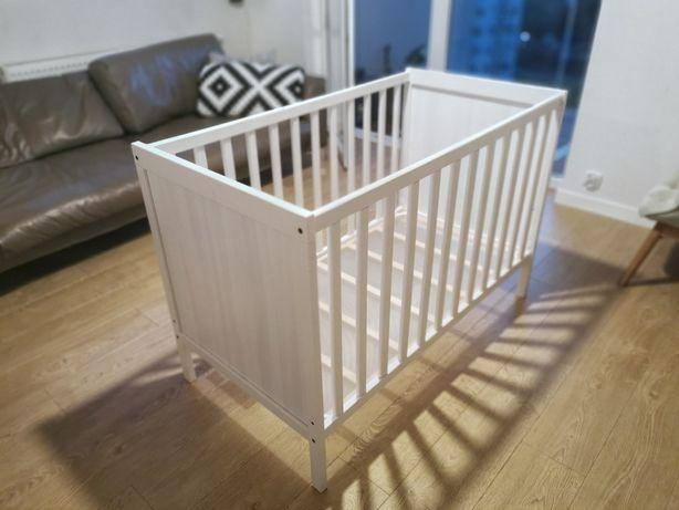 Łóżeczko niemowlęce dziecięce 120x60 IKEA Sundvik