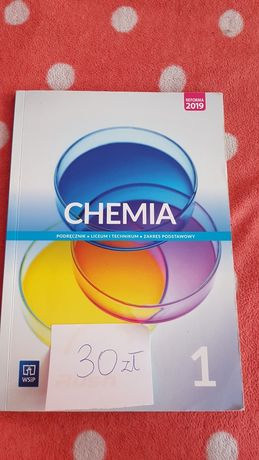 Chemia podręcznik Liceum i Technikum zakres podstawowy WSiP