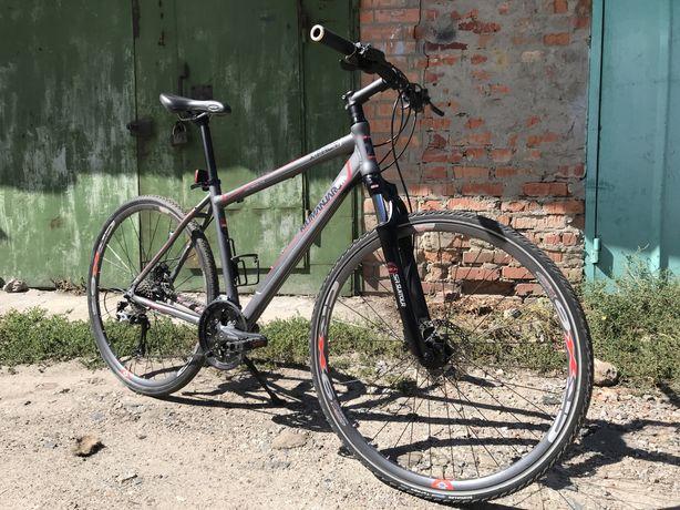 Велосипед для туризма и города 28 колеса Гидравлика
