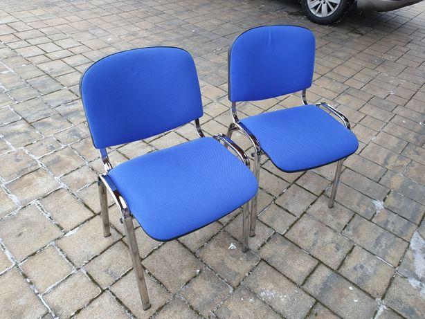 Krzesła x2 biurowe lub do domu, stan bdb