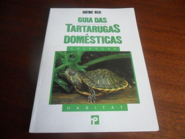 """""""Guia das Tartarugas Domésticas"""" de Hartmut Wilke 1ª Edição de 1994"""