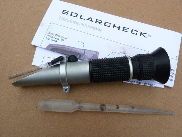 Refraktometr optyczny solarcheck