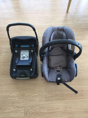 Cadeira auto grupo 0 + base streety fix bebe confort