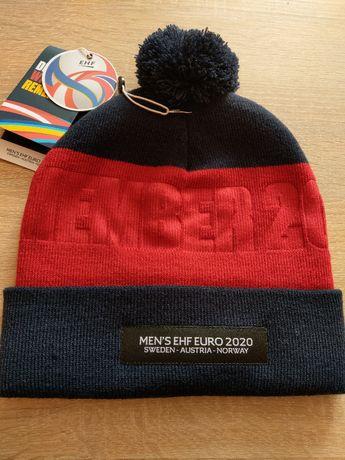 Oryginalna czapka z Mistrzostw Europy w Piłce Ręcznej 2020 z pomponem