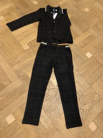 Школьный теплый костюм на мальчика. Форма. 122-128 размер 6-7 лет.