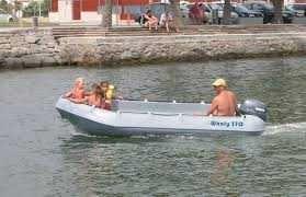 Barco Novo  Whaly 370