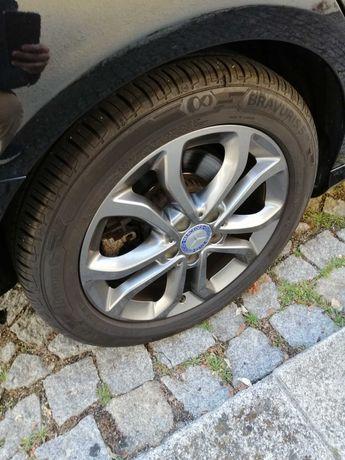 Jantes 17 Mercedes Originais c/ Pneus Bravuris 225 50 R17 XL