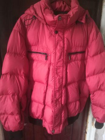 Зимняя куртка пуховик.