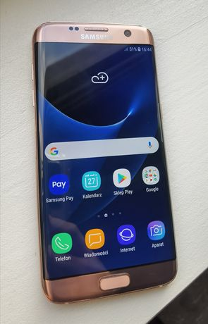 Samsung Galaxy s7 edge różowy