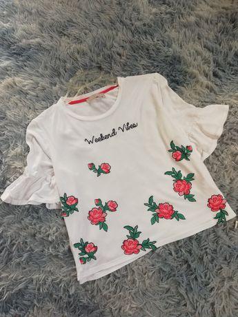 Bluzka new look kwiaty