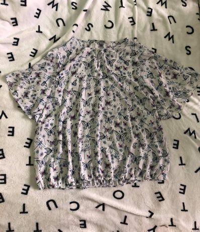 Śliczna bluzeczka rozmiar 48