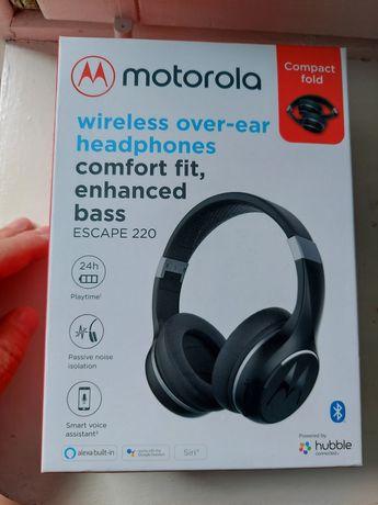 Nowe słuchawki Motorola Escape 220.