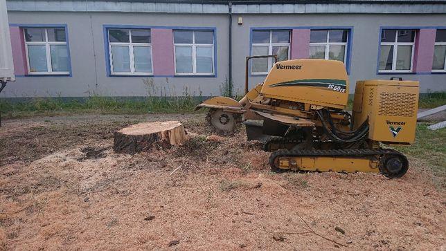 Usuwanie Frezowanie Pni Karczowanie Frezarka Karp Korzeni Drzew