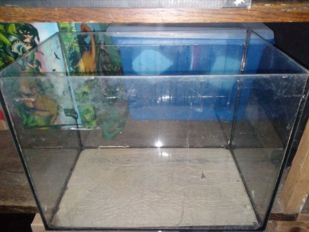 akwarium - zbiornik używany