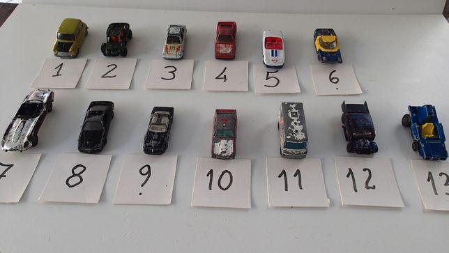 Miniaturas de carros raras