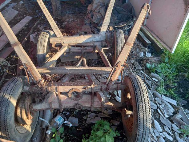 Wóz konny drewniany