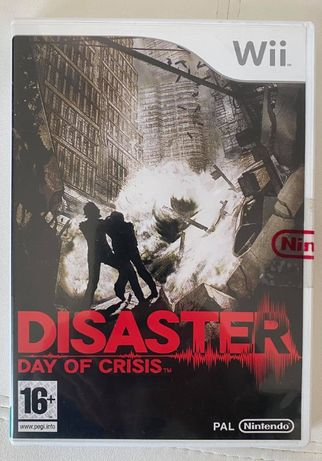 Wii Jogos - Disaster: Day of Crisis