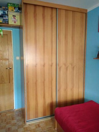 Szafa rozsuwana sosna drewniana 150