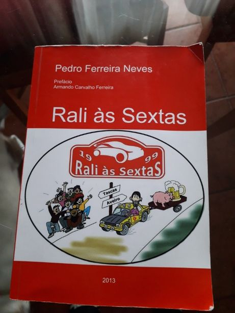 Livro «Rali às Sextas»