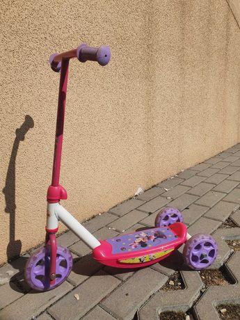 Hulajnoga 3-kołowa dla dziewczynki - Myszka Mini