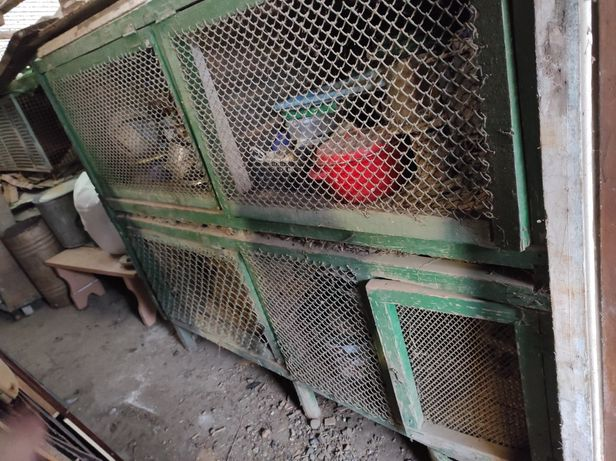Клітки деревяні для кролів нутрій клітка кролики нутрії