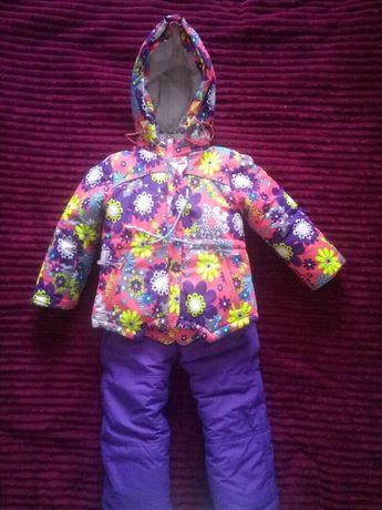Комбенизон,  зимний костюм на девочку