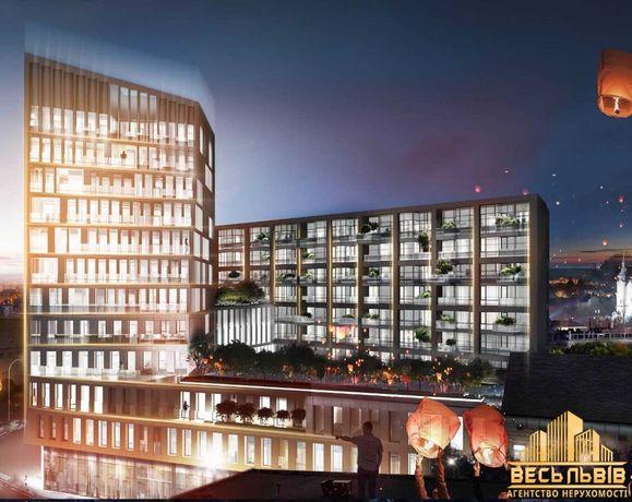 Продаж ВІП апартаментів в центрі Львова в. Під Дубом 26 (Новобудова)