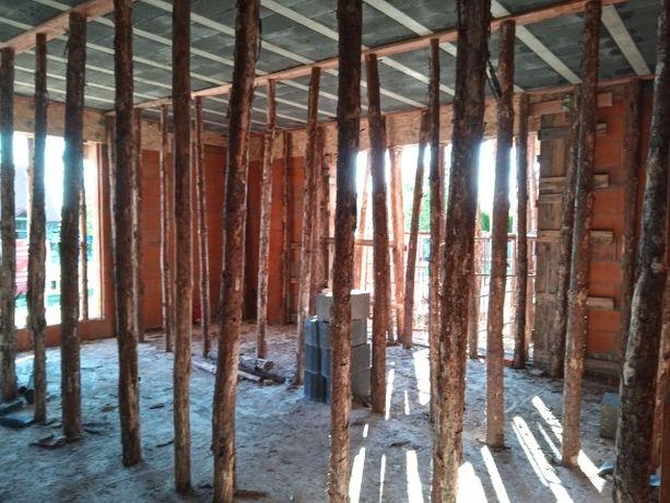 Stemple budowlane w idealnym stanie