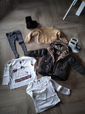 Ubranka dziewczęce 4-5 lat